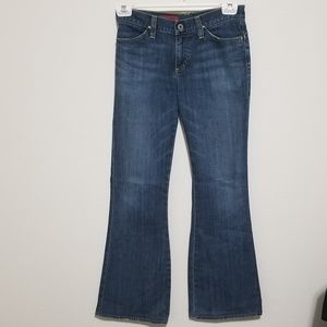 AG The Legend 28 Blue Flare Jeans